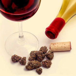 مصرف همزمان ماری جوانا و الکل