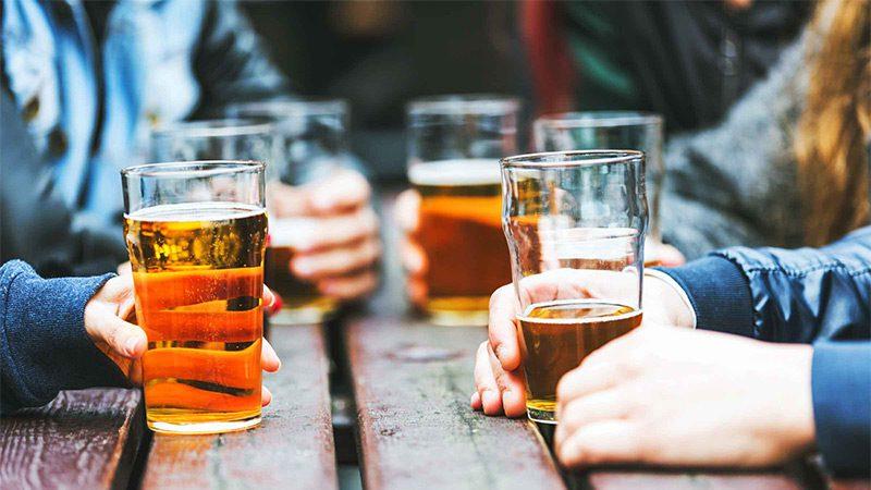 نشانه های مصرف الکل