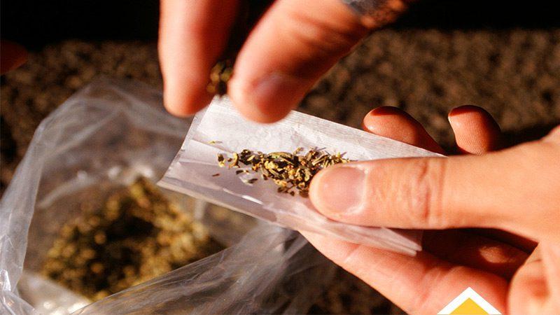 عوارض مصرف مخدر گل