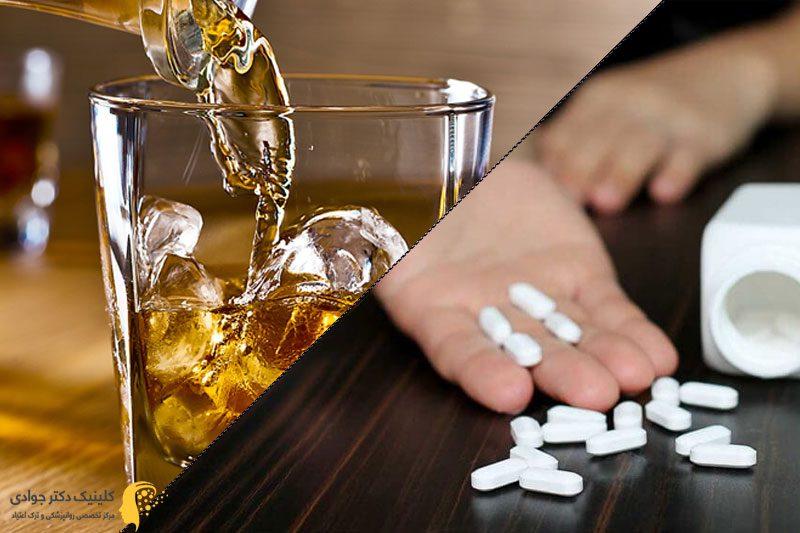 مصرف همزمان آلپرازولام و الکل
