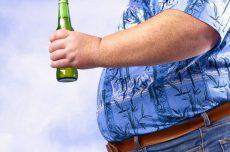 الکل و چاقی